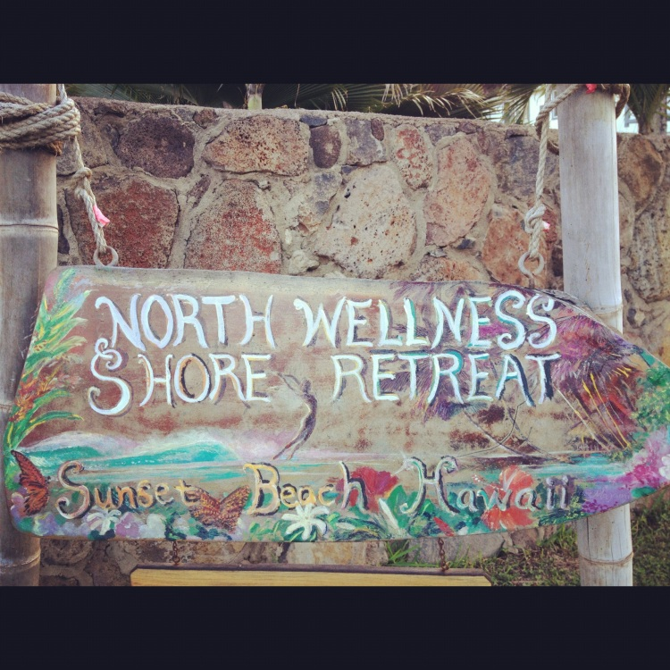 Rochelle Ballard's North Shore Wellness Retreat. Rochelle has since sold the property and returned to her native Kauai with the intention of taking her practice on the road - Surf Into Yoga Crossing is born.
