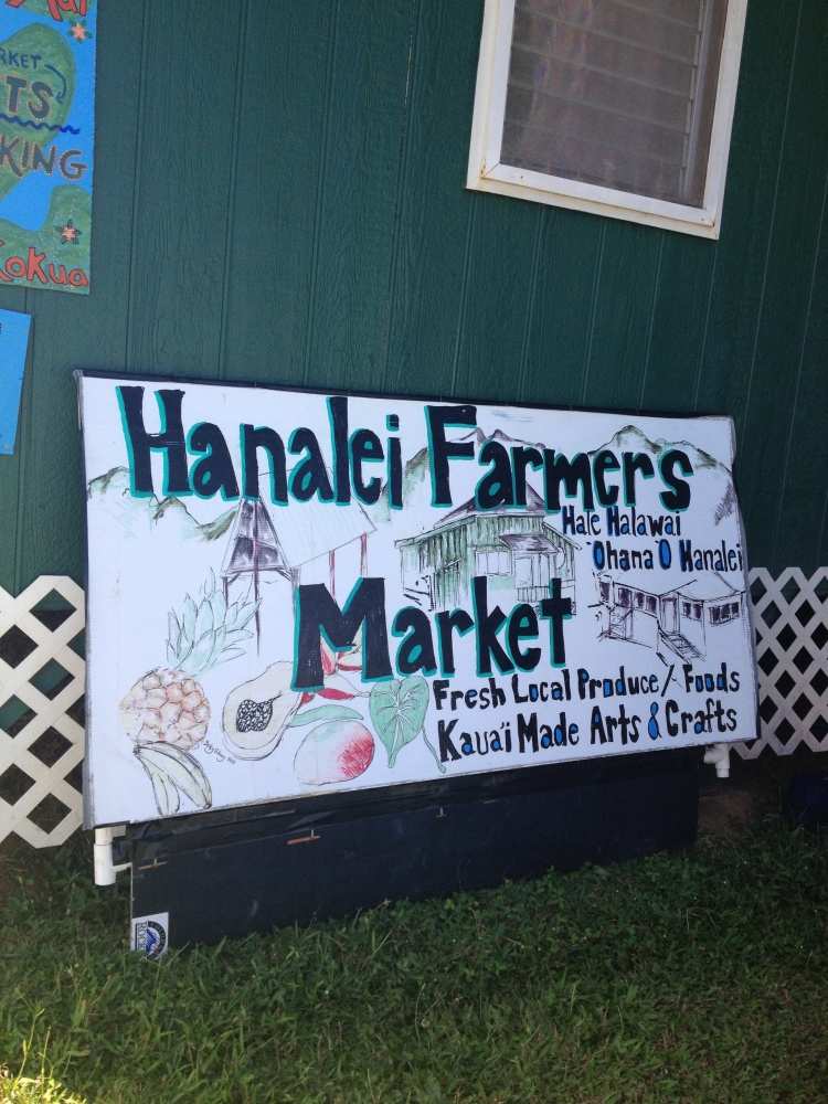 Hanalei Farmer's Market was easily one of the best I've ever experienced. Fruits and veggies you've never seen before and GMO free!