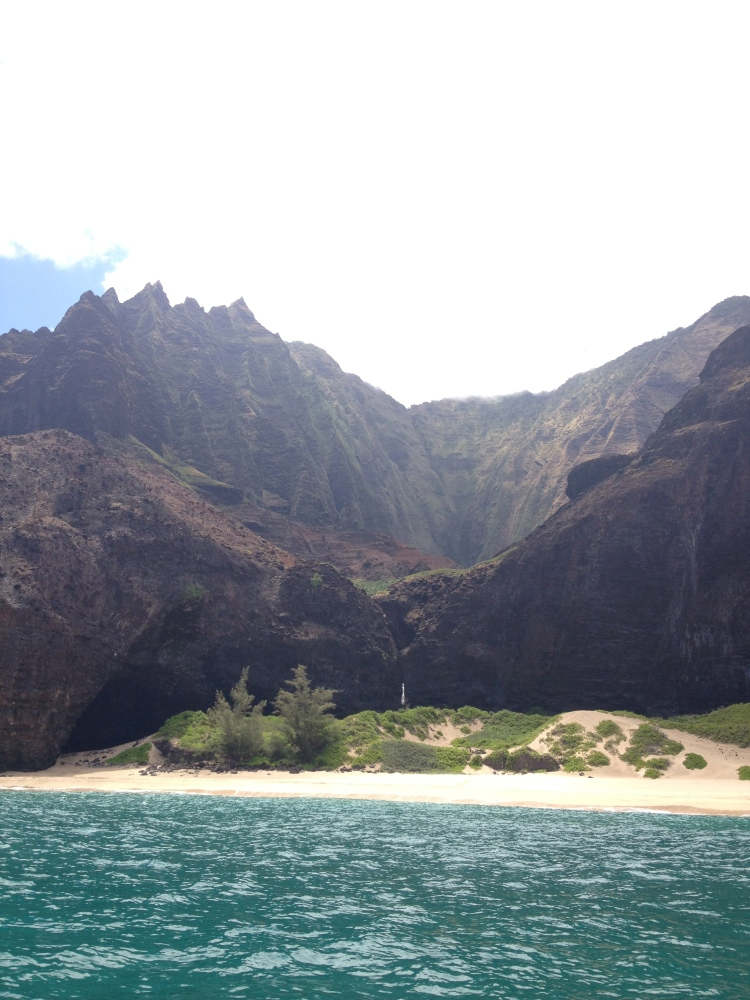 More stunning views from the Napali Coast Adventure.